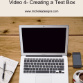 Creating a Text Box in Photoshop Elements - www.michellejdesigns.com - This short video tutorial gives you step by step instructions for creating a text box!