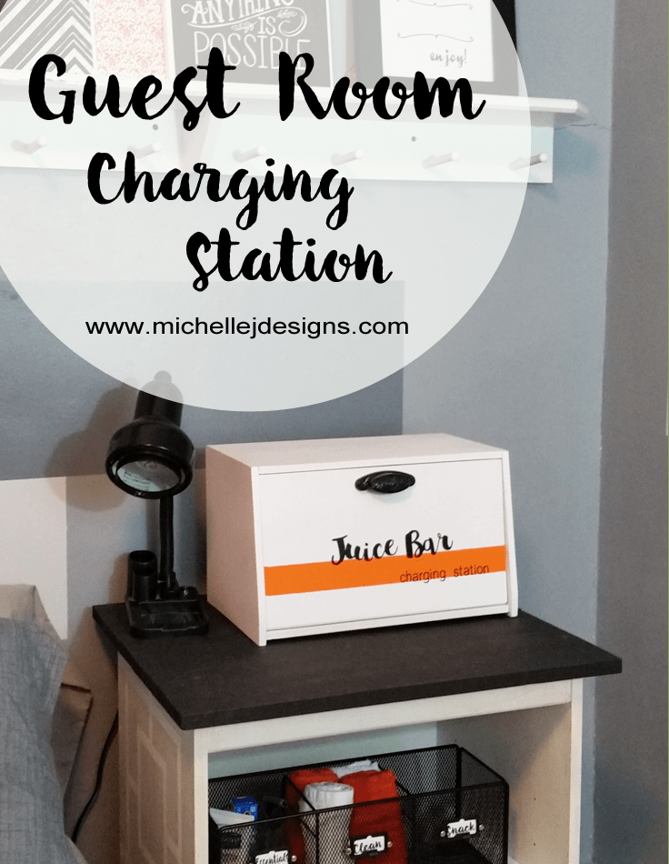 Guest Room Juice Bar Charging Station