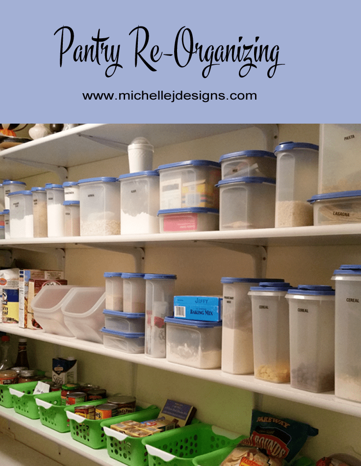 Pantry Re-organization Phase 3