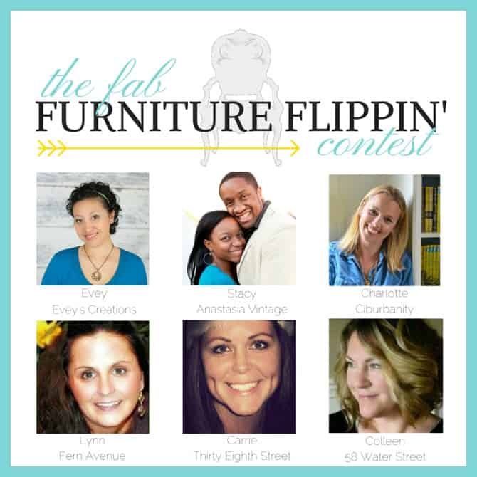 fab furniture flippin contest - www.michellejdesigns.com