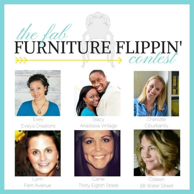 fab furniture flippin contest - www.michellejdesigns.com