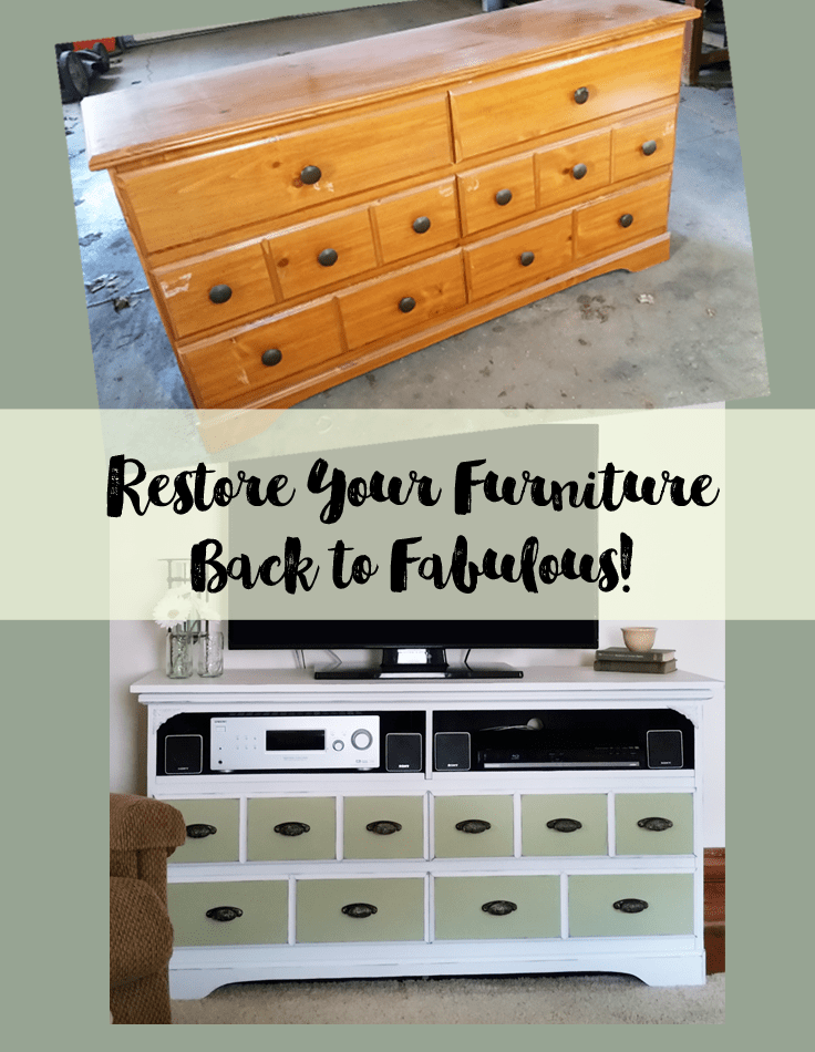 Restore Your Furniture Back to Fabulous!