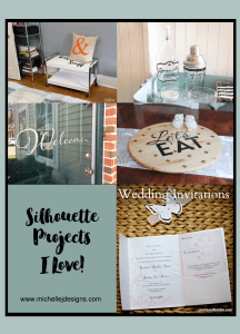 Silhouette Cameo Projects that will blow you away - www.michellejdesigns.com - visit this round up of amazing projects created using the Silhouette Cameo!