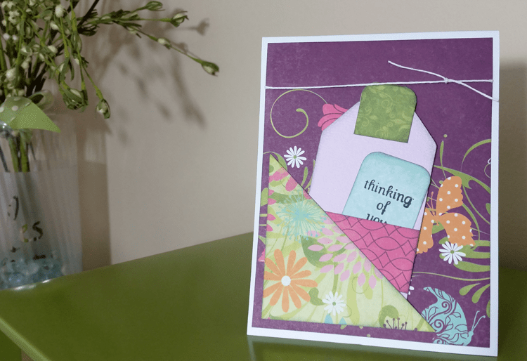 Hand_Made_Pocket_Card - www.michellejdesigns.com - This post will show you how to create a hand made pocket card that is simple, easy and fun!