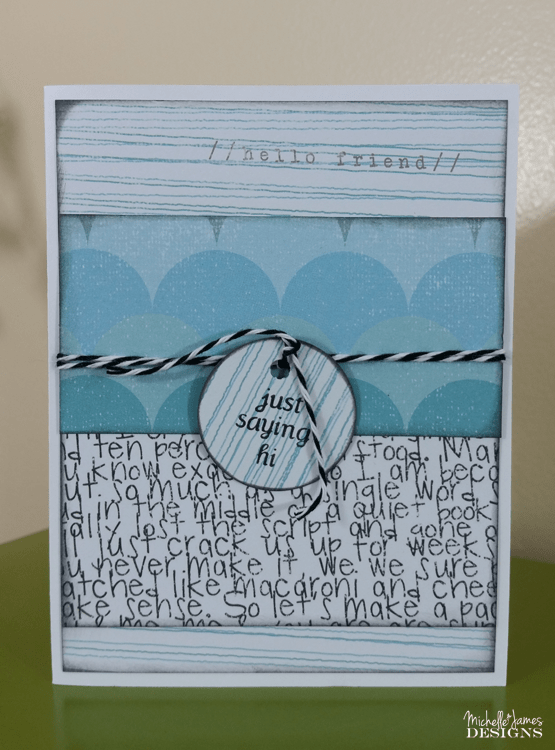 How_To_Create_A-Handmade_Tag_Card - www.michellejdesigns.com - This post will give you step by step instructions, a supply list and a video to create a handmade tag card that is simple, easy and fun!
