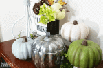 How To Transform Foam Pumpkins Into Pretty Fall Decor
