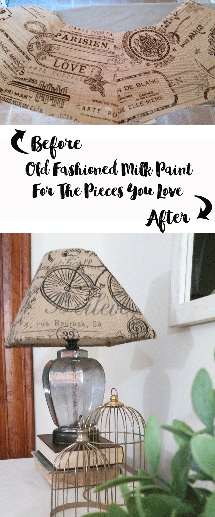 How To Make Old Lampshades New Again With Burlap