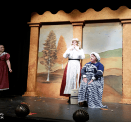 Only An Orphan Girl - www.michellejdesigns.com - This melodrama is a must see on the main street stage!
