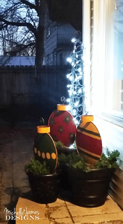 Metal Christmas Tree Decorations