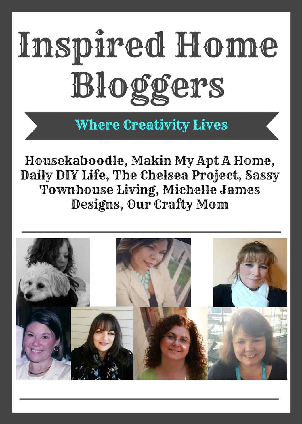 Inspired Home Bloggers - www.michellejdesigns.com