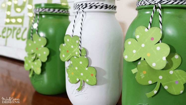 There are some amazing St. Patrick's Day projects out there. I am showing you some mason jar favorites that you would be proud to make and show off in your home.