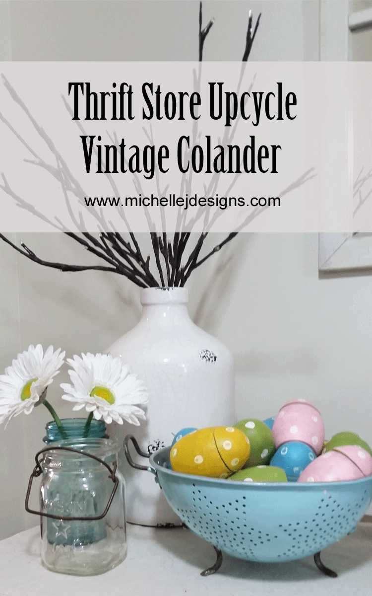 make-vintage-colander-look-pretty