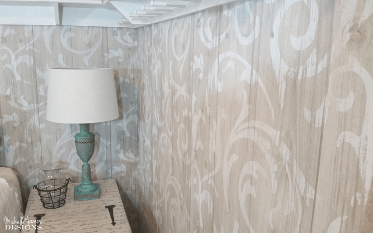 Wallpaper has come a long way and the styles and patterns are so pretty. I updated two walls and it made a huge difference in my guest room.