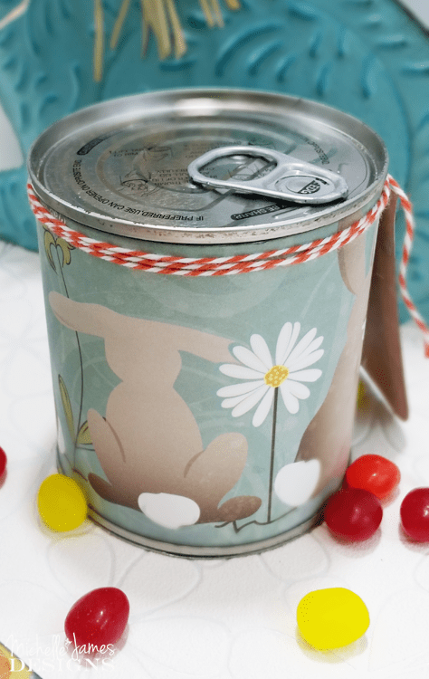 I love to create fun packaging for cute, handmade gifts. This is so fun it is Gifts In a Can Check it out at www.michellejdesigns.com