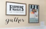 How To Make A Farmhouse Kitchen Sign
