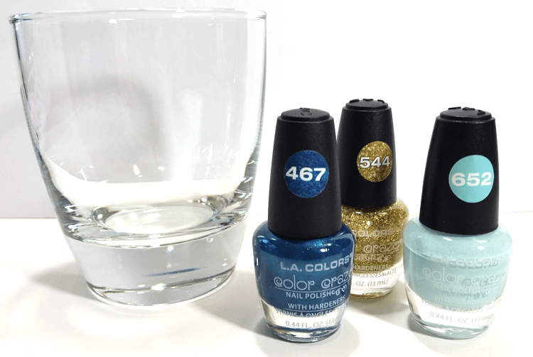 I love to try fun things and these nail polish swirl glasses were a lot of fun and so easy to make! - www.michellejdesigns.com