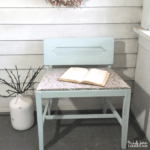 Sweet DIY Vanity Chair Makeover