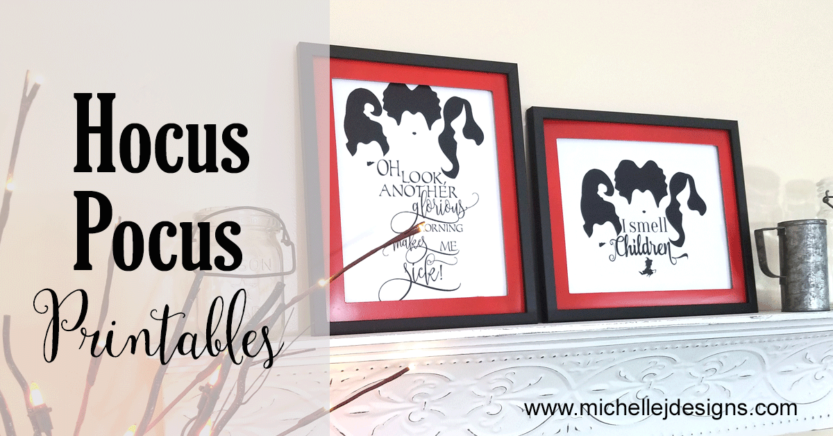 Easy Hocus Pocus Halloween Printables You Can Print And Display