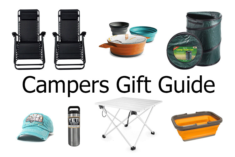 I have a lot of friends who love to camp and I bet you do too. I have put together a campers gift guide. All of these items will surely put a smile on their face! - www.michellejdesigns.com