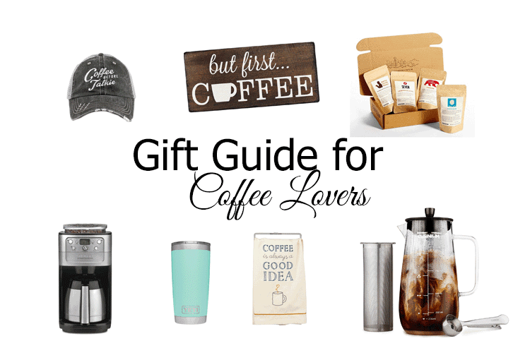 Any coffee lover would love to get some of these great things. Check out this fun Coffee Lovers Gift Guide for any occasion. - www.michellejdesigns.com