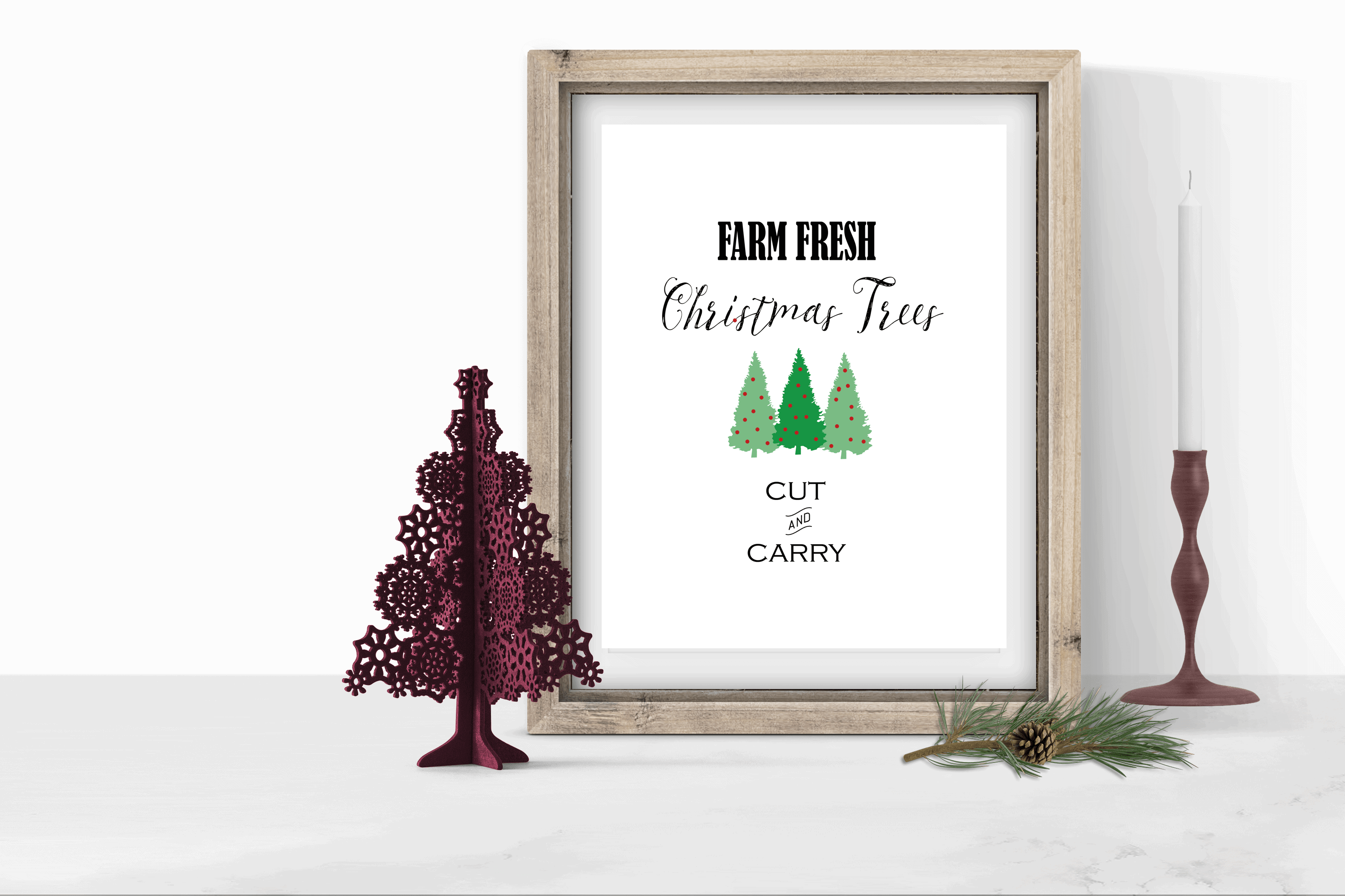 These free Christmas Printables are perfect for your DIY home decor. Download, print and frame for perfect artwork every time. www.michellejdesigns.com