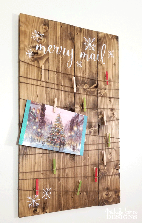 i wanted to create some new christmas decorations this year i started with a rustic - Rustic Christmas Cards