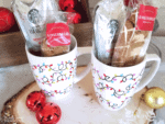 Dollar Store Christmas Craft – Holiday Mugs