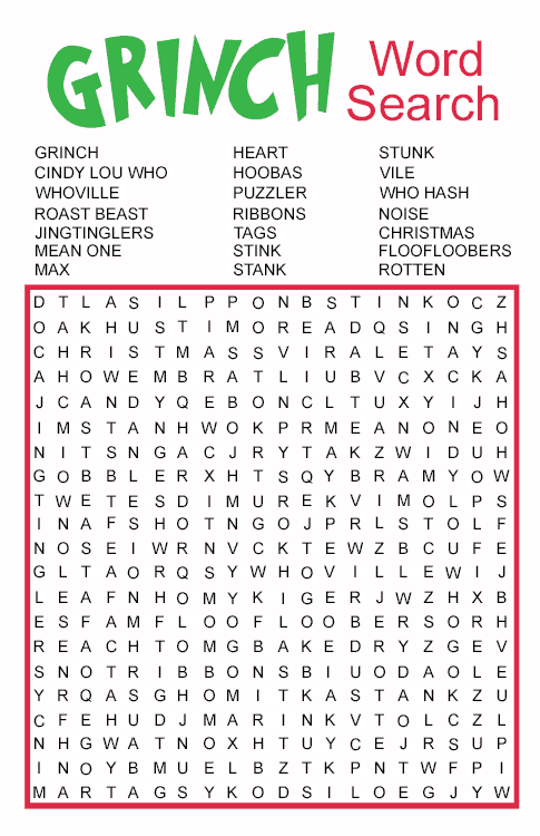 It is an image of Soft Printable Word Searches