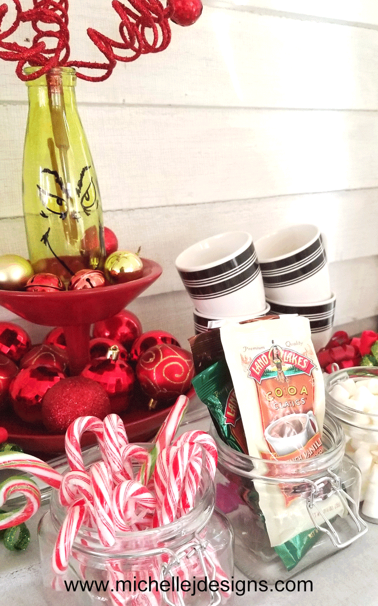 It is always fun to create a special day or night during the holidays. Create A hot cocoa bar to make the evening even more magical! - www.michellejdesigns.com