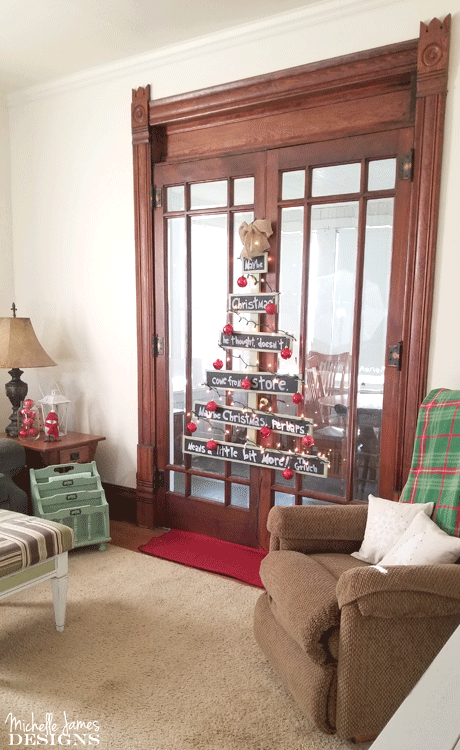 our pet friendly diy wood christmas tree the makeover