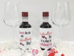 Free Printable Valentine's Day Mini Wine Bottle Labels