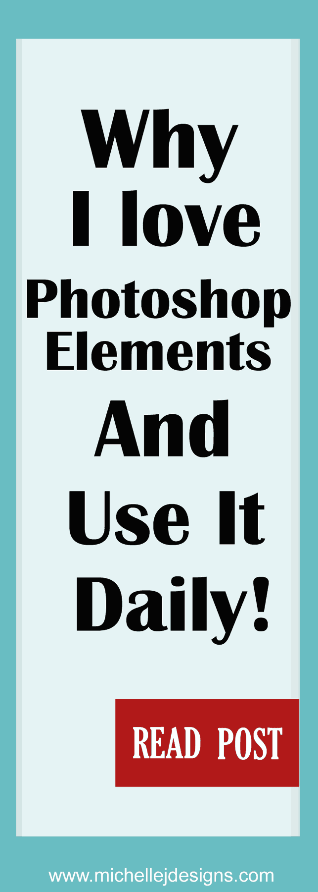 See how I consistently use Photoshop Elements in my blog and business to make money on a regular basis!