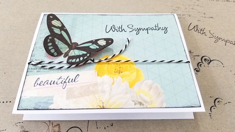 Sending a handmade card is special and handmade sympathy cards really show you care. #handmadecards #papercrafts #handmadesympathycards #cardmaking #diycards #sympathycards - www.michellejdesigns.com