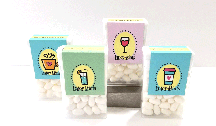 Printable Tic Tac Labels are fun gifts for parties or any occasion! Tic Tac Labels, Tic Tacs, Printables #printabletictaclabels #tictaclabels #digitaltictacstickers #labelsfortictacs - www.michellejdesigns.com