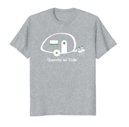Are you looking for a festive St. Patrick's Day shirt for the day or the celebration? These are some of my newest designs that I love! There are some just for camping lovers too! - #stpatricksdayshirts #stpatricksday #stpats #stpatsshirts -www.michellejdesigns.com