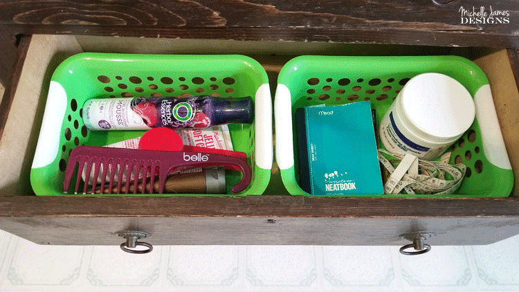 These drawers in my bathroom needed a lot of work. Some bathroom drawer organization was definitely in order. #organizing #organize #drawerorganization - www.michellejdesigns.com