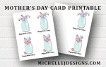 Mother's Day Card Ideas With A Free Printable