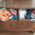 As our drawer organization blog hop comes to a close I am showing you how to organize dresser drawers the easy way! #organize #drawerorganization - www.michellejdesigns.com