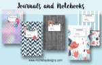 Journals and Notebooks By Michelle James Designs