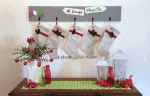 DIY Grinch Inspired Stocking Wall Hanger