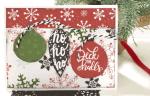 DIY Ornament Christmas Card