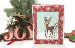 How To Create An Easy Christmas Reindeer Card