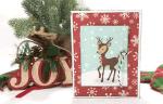 How To Create An Easy Christmas Reindeer Card