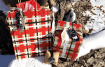 DIY Plaid Holiday Wrapping Paper And An Amazing JORD Watch
