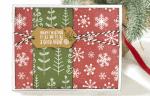 DIY Handmade Glitter Christmas Card