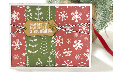 Sparkle is what it is all during the holidays. This DIY handmade glitter Christmas card is perfect to share some sparkle with others! - www.michellejdesigns.com #michellejdesigns #handmadecards #papercrafts #Christmascards