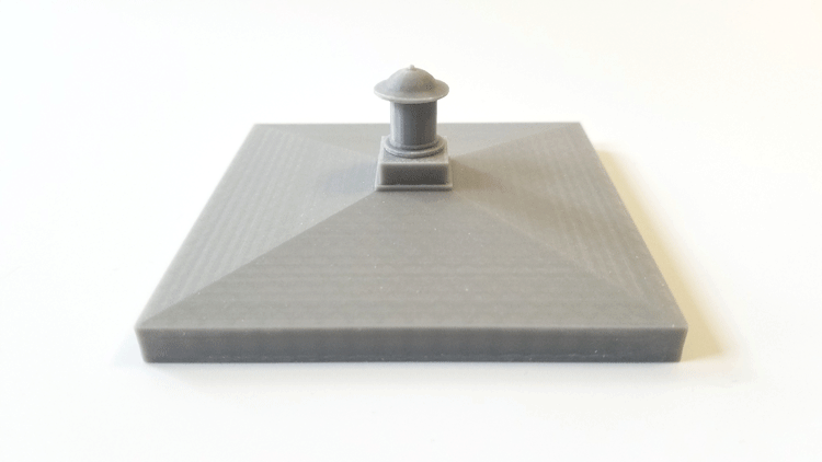 3D printed lid for the Tardis model