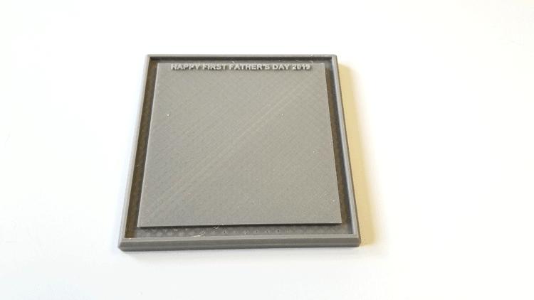 3D printed base for Tardis.