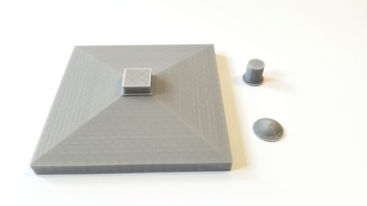 3D printed lid parts for the Tardis Model