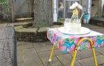 Outdoor Footrest Makeover